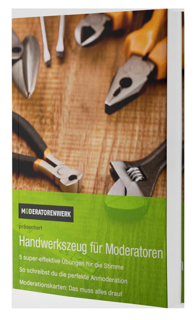 Cover eBook Handwerkszeug für Moderatoren Cover