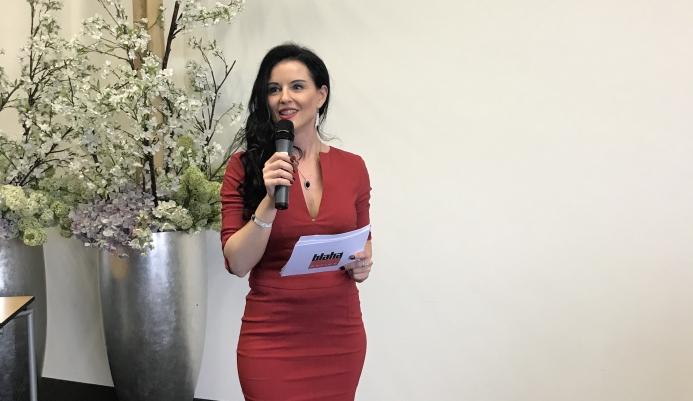 Moderatorin Danja Bauer stellt sich vor