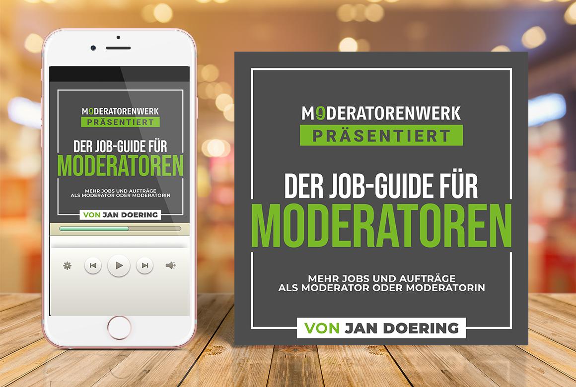 """Hörbuch """"Der Job-Guide für Moderatoren"""""""
